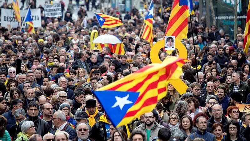 Ma is tüntetnek Barcelonában