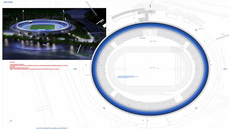 Ötmilliárdért tervezik az új magyar stadiont