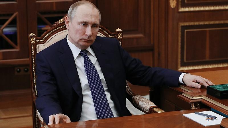 Szíriai légicsapás - megszólalt Putyin