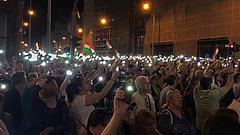 """""""Holnap megdől ez a hatalom"""" - üzenték a kormánynak a tüntetésről"""