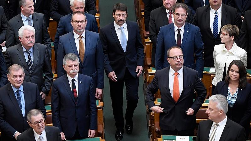 Áder: az új Országgyűlés és a leendő kormány legitimációja minden vitán felül áll