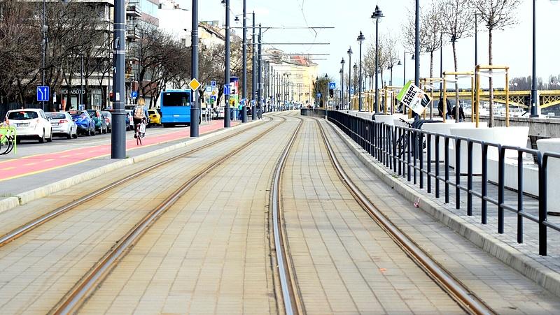 Folytatódik a budapesti fonódó villamoshálózat fejlesztése