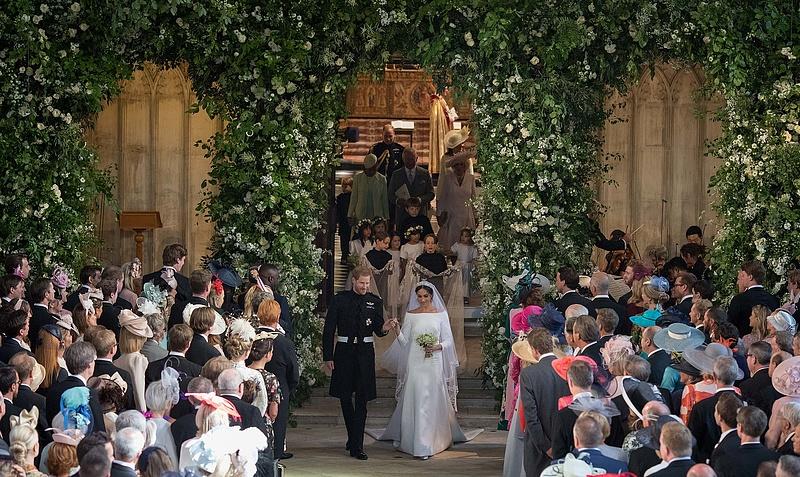 Ilyen volt Harry és Meghan esküvője a brit sajtó szerint