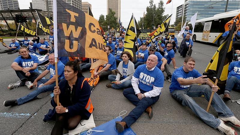 Tömegek tüntetnek az Aldi ellen Ausztráliában