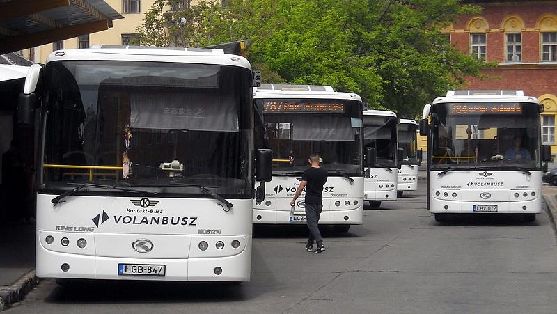 Volvo buszokat vett a Volán