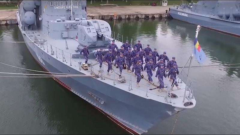 Négy új hadihajót vesz Románia