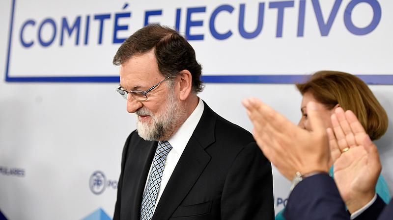 Lemond pártelnöki posztjáról Mariano Rajoy