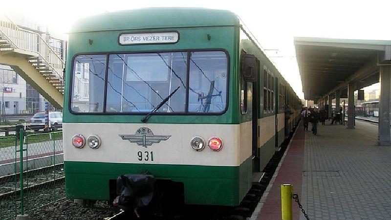 Pótlóbusz jár a HÉV helyett Mogyoród és Gödöllő között a hétvégén