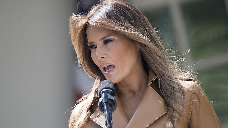 Meglepő kijelentést tett Trump felesége a migrációról