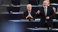 Timmermans: van ok az óvatosságra, különösen Magyarországgal szemben