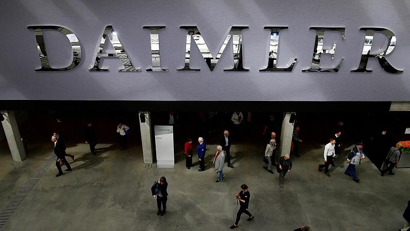 Brutális veszteség a Daimlernél