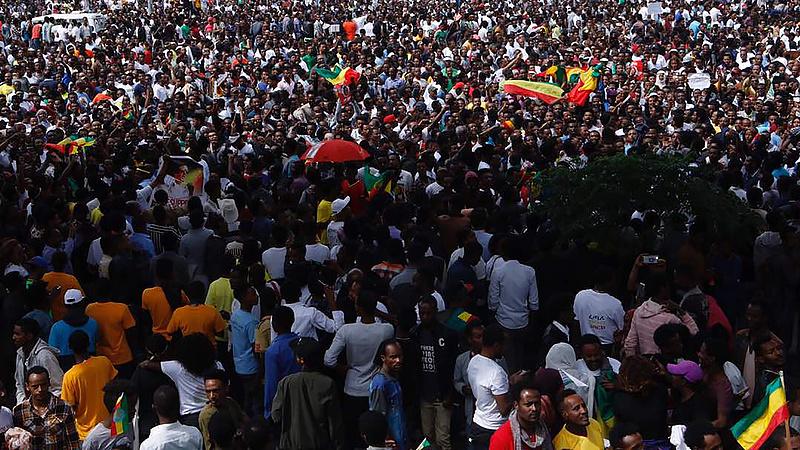 Robbanás történt az új etióp miniszterelnök nagygyűlésén - több halott