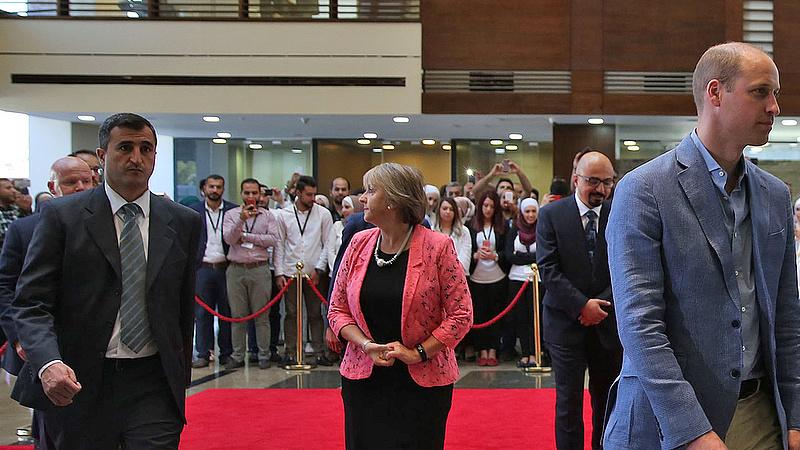 Vilmos herceg Izraelbe érkezett hivatalos látogatásra