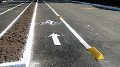Nyolc kilométeres bicikliút épül 382 millióból