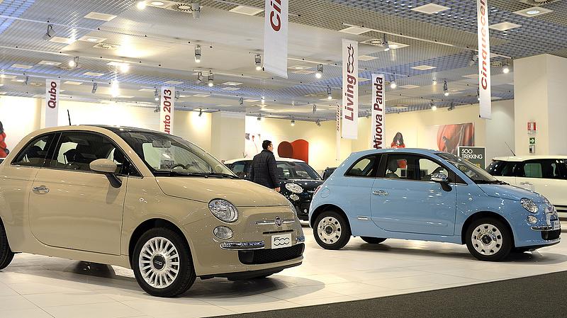 Jókorát zuhant a Fiat Chrysler árfolyama