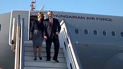 Kiderült, Orbán miért utazott katonai géppel Izraelbe