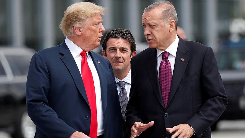 Háborús hangulat Törökország és az USA között