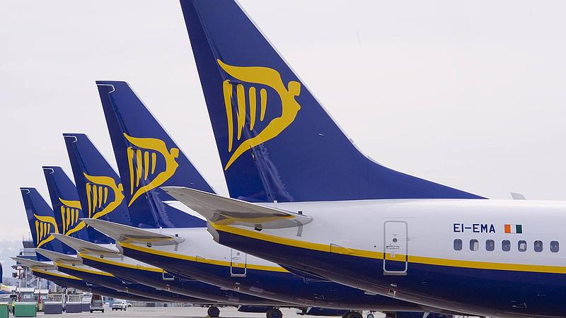 Bombafenyegetés miatt kellet leszállni egy Ryanair-gépnek