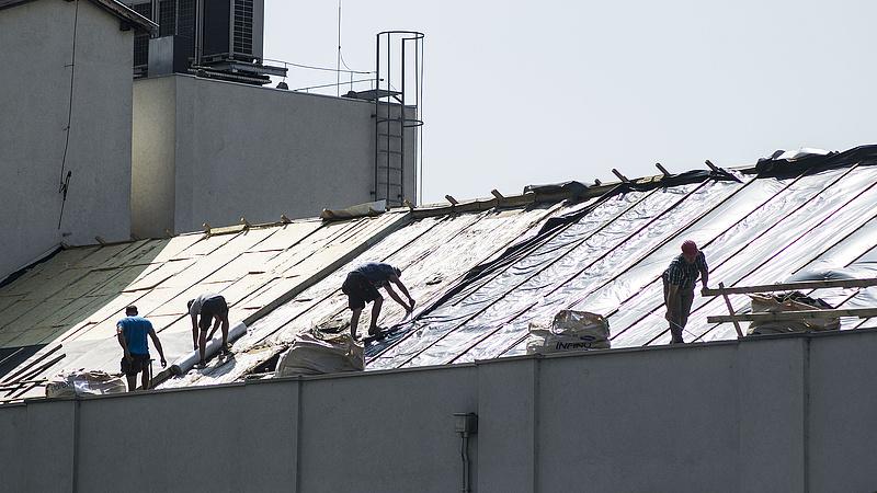 KSH: egy hónap alatt visszaesett, egy év alatt nagyot nőtt az építőipar