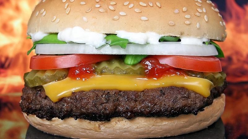 Online rendelés toplista: sajtburger, sült krumpli, hamburger