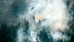 Újabb intő jel a pusztító svéd erdőtűz