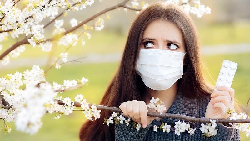 Allergia vagy koronavírus? Így döntheti el