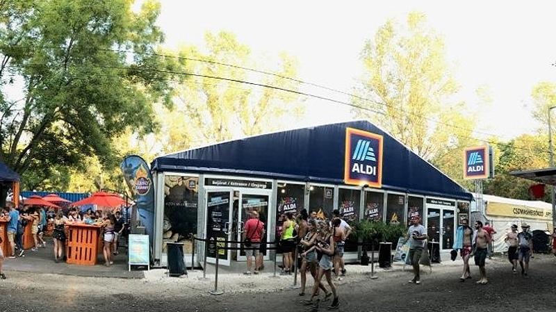 Öt új Aldi-üzlet nyílik a nyári eseményeken