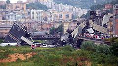Felrobbantották a tavaly leomlott genovai híd maradványait