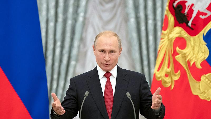 Váratlan húzásra szánta el magát Putyin