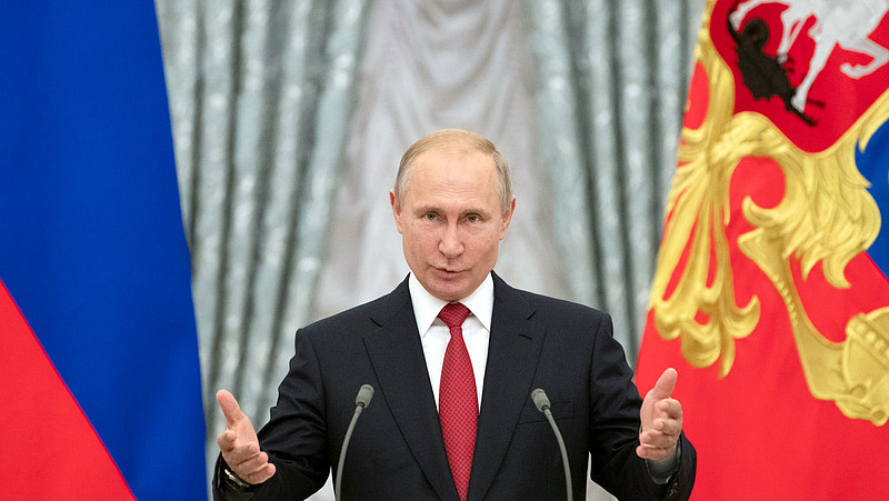 Elkészült Putyin grandiózus alkotása - amivel mindenki jól járhat
