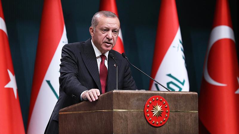 Véletlenül előkerült Erdogan új palotája
