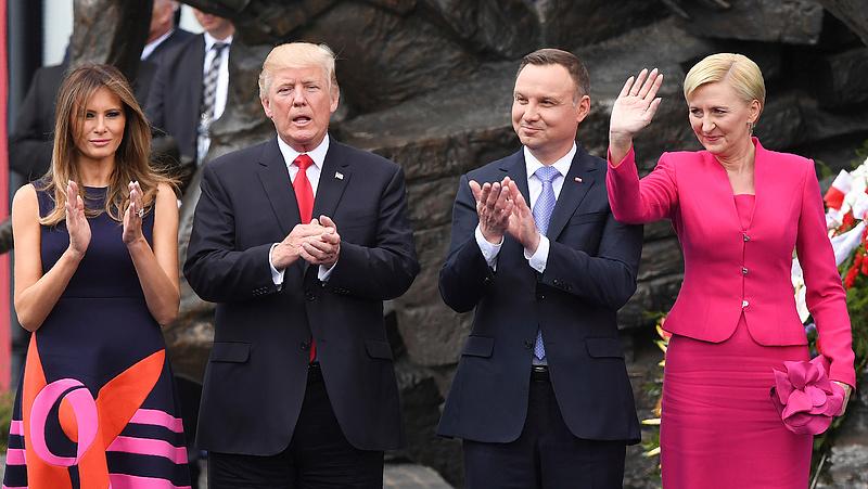 Újabb lengyel-amerikai csúcs