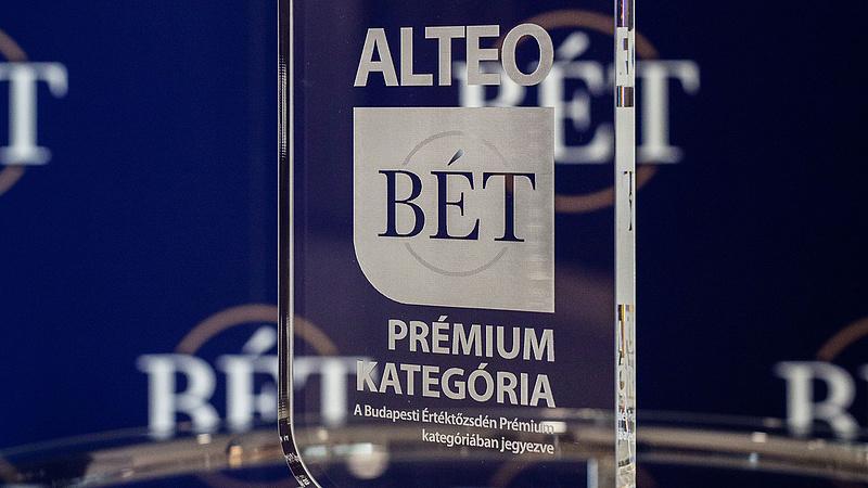 Csúcsra húzták az ALTEO-t a lelkes befektetők