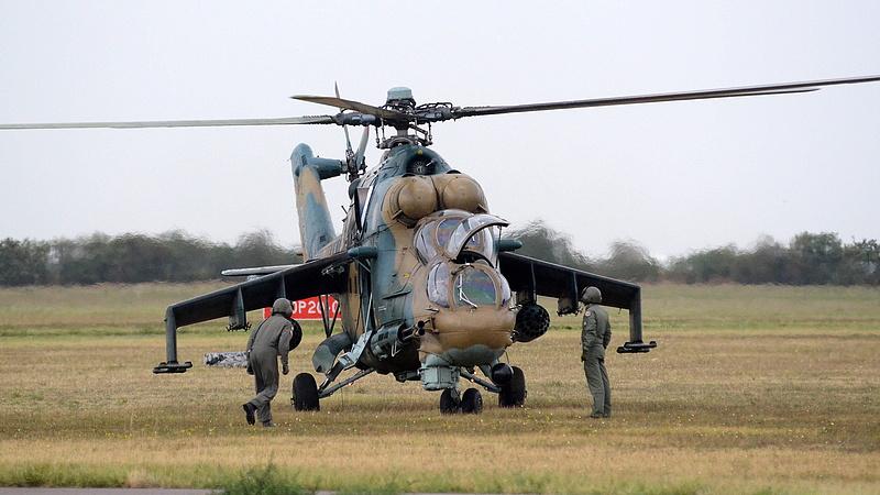 Orosz cég javíthatja a magyar katonai helikoptereket