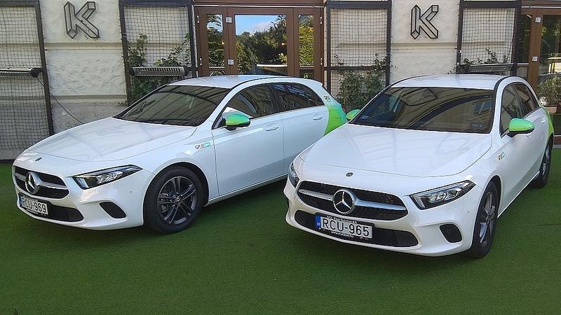 Percenként egy százasért ad Mercedest a Mol