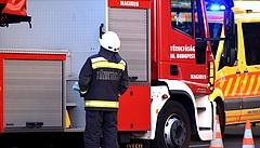 Tűz volt MOM Park mellett - egy ember meghalt