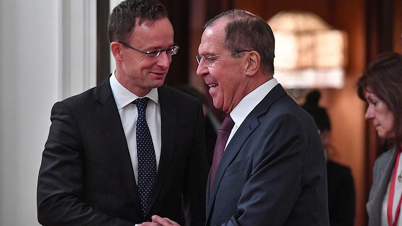 Szijjártó szerint erősödnek a magyar-orosz kapcsolatok