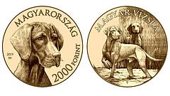 Ötvenezer forintos emlékérme jön és a kutyák is kapnak egy sorozatot