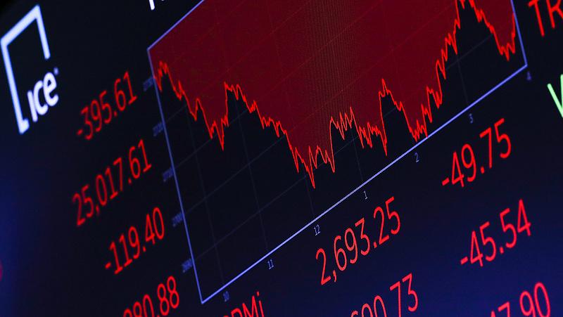 Vörösben álltak meg az európai indexek
