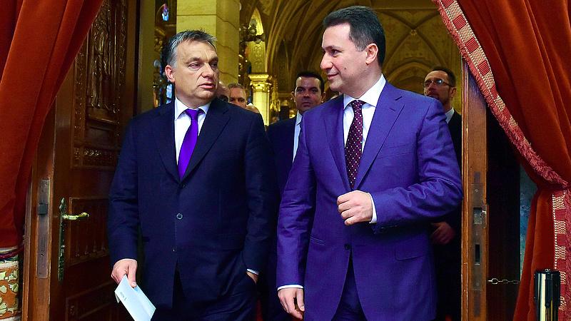 Ezért kell megvédeni Gruevszkit - íme, Orbán Viktor magyarázata