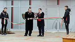 Ma is átadott egy fociakadémiát Orbán Viktor