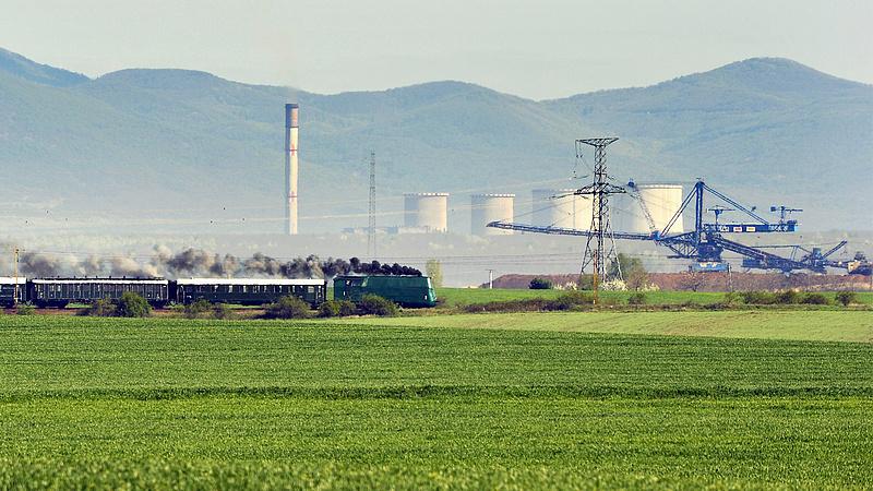 Kén- és foszfortartalmú gáz szabadult fel a visontai erőműnél