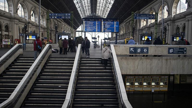 Hosszú időre lezárják a Keleti pályaudvart