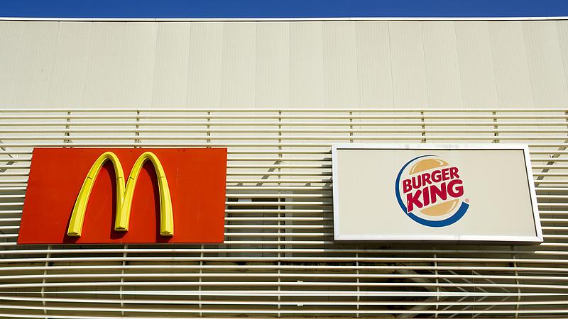 A Burger King szintet lépett, durvul a verseny