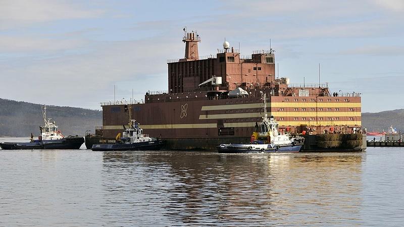 Bekapcsolták az oroszok az első úszó atomreaktort