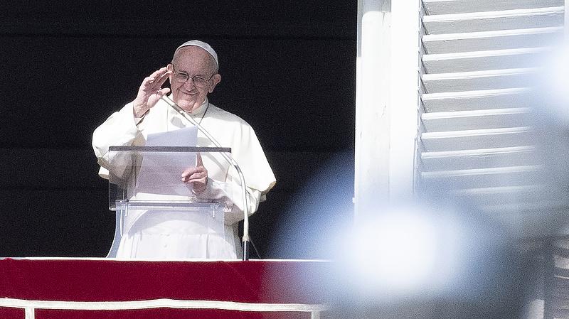 Erős üzenetet küldött Ferenc pápa