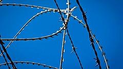 Szerbek építik az új kerítést