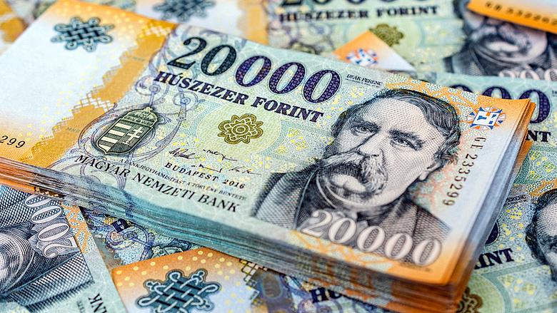 pénzt dollárban)