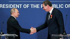 Putyin és Vucic 21 megállapodást írt alá