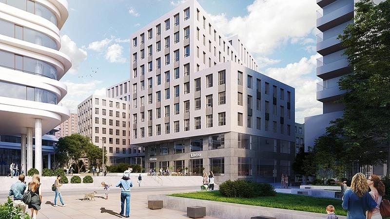 Szerkezetkész a Futureal-csoport újabb irodaháza